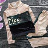 Шикарный спортивный костюм для девчонок