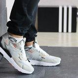 Adidas Nite Jogger Boost кроссовки мужские демисезонные бежевые 8420