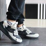 Adidas Nite Jogger Boost кроссовки мужские демисезонные бежевые с черным 8421