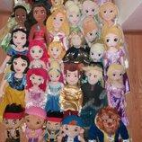 Мягкие куклы принцы и принцессы из мультфильмов Дисней Disney 50 см