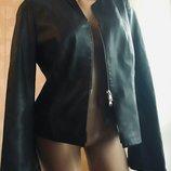 Куртка жакет из натуральной кожи наппа.