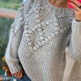 Обьемный свитер