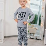 Новые пижамы для девочек 3-8 лет