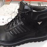 Черные ботинки демисезон