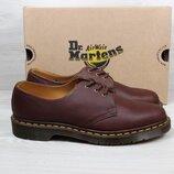 Мужские кожаные туфли Dr. Martens 1461 оригинал, размер 43 - 44 коричневые