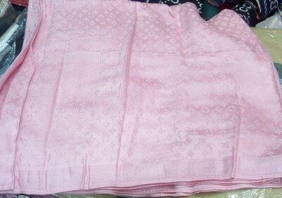 Палантин шарф женский Louis Vuitton . цвет розовый