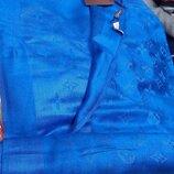 Палантин шарф женский Louis Vuitton. цвет электрик