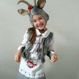 Прокат карнавальный костюм козочки, козы, козочка, коза, кози на утренник для девочки Киев