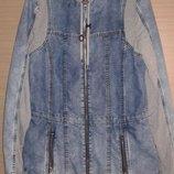 Стильная джинсовая куртка р. S180