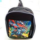 Рюкзачок детский с рисунком и карманом, для мальчиков.