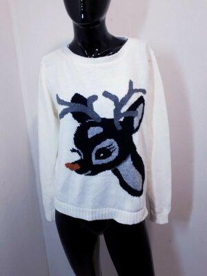 Красивый джемпер пуловер свитер свитшот