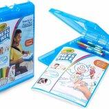 Crayola Набор в удобном кейсе 35 предметов Color Wonder Stow & Go Mess Free Coloring