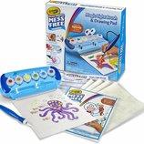 Crayola набор для творчества Волшебная кисть Color Wonder Magic Light Brush & Drawing Pad Mess Free