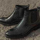 Демисезонные сапоги ботинки осенние весенние челси туфли оксфорды