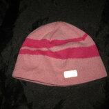 1-2 года, тёплая шерстяная шапка Lassie Reima двойная