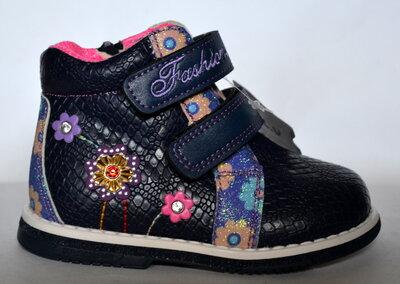 Демисезонные ботинки для девочек MLV