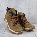 Ботинки мужские Twics, натуральная кожа на меху, код gavk-K2