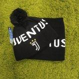 Комплект шапка и хомут Juventus