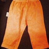 Ярко - апельсиновые Брючки/штаники бренда WOODEN BUTTONS для малыша