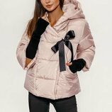 Женская короткая осенняя куртка S-L -2 цвета.