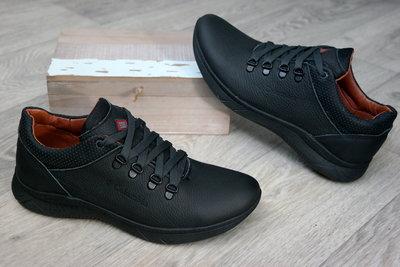 Мужские кожаные кроссовки туфли весна осень , отличное качество за приятную цену