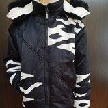 Термокуртка для девочки р. 142 - 146