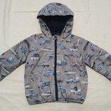 ветровка куртка курточка Next 2-3 г 98 см подкадка флис