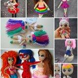 Кукла LOL, лялька Лол, игровая, вязанная, ручная работа, handmade, податок девочке, дочке