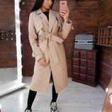 Кашемировое пальто 42,44 размеры