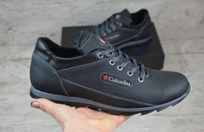 Мужские кожаные кроссовки мод 301