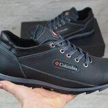 Мужские кожаные кроссовки в стиле Columbia 600