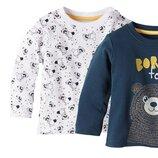 Новый реглан лонгслив свитшот джемпер кофта на мальчика Lupilu Германия 62-68 см 3-6 месяцев