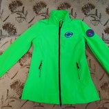 Фирменная женская softshell куртка Bonprix, размер 38
