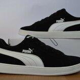 Кроссовки Puma замша черная.