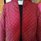Теплая деми-куртка