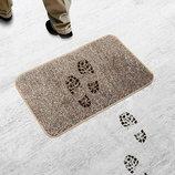 Коврик Для Прихожей и ванной Ни Следа Clean Step Mat Суперпоглощающий коврик из микрофибры