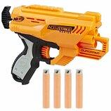 Nerf Бластер четырехтактный револьверного типа E0012 N-Strike Elite Quadrant AccuStrike