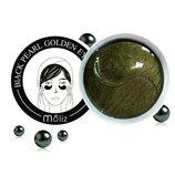 Гидрогелевые патчи для глаз чёрный жемчуг Black Pearl Golden Eye Mask Moliz 60шт, маска для глаз
