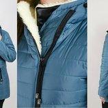 Куртка Зима -уголок батал, Размеры 46-48-50-52-54.