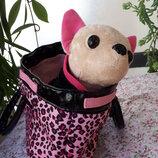 chi chi rock star 20cм simba.собачка с сумкой оригинал