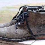 Оригинальные кожаные ботинки tommy hilfiger 45 разм