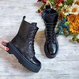 Распродажа Крутые натуральные кожаные женские ботинки мартинсы доктор мартинс