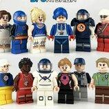 Фигурки, человечки, спортсмены лего, lego аналог