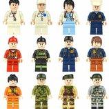 Фигурки, человечки, профессии лего, lego аналог