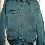 Стильная брендовая фирменная нарядная деми курточка бренд Emidio Tucci.л.хл 52