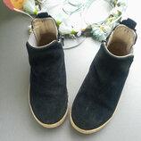Замшевые ботиночки, челси на малышку