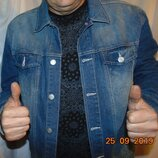Стильная фирменная брендовая джинсовая курточка пиджак Livergy Germany.л .
