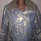 р 42 куртка Prada оригинал воротник овчина натуральная отличное состояние есть защита от ветра рукав