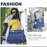 Многофункциональная сумка для мамы. Сумка органайзер на коляску для детских вещей