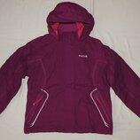 Утепленная куртка ветровка Regatta цвета фуксии. На девочку 9-10 лет. Рост 134-140 см.